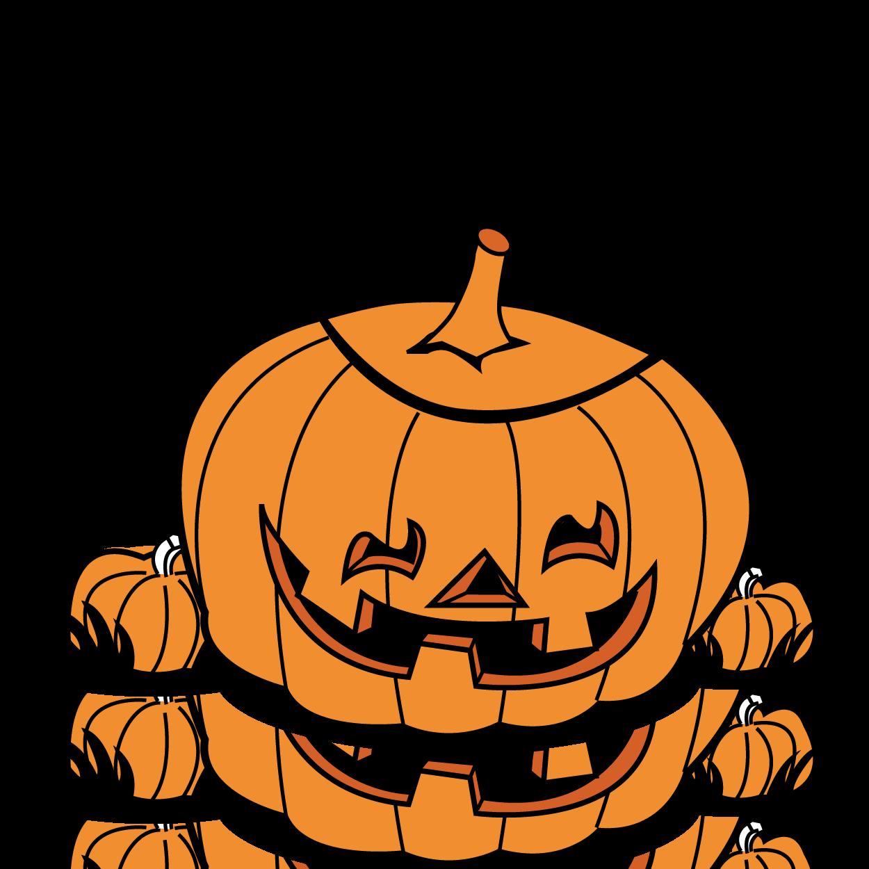 Halloween Pumpkin Patch Clip Art | Clipart Panda - Free Clipart Images