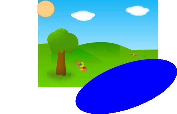 озеро клипарт: