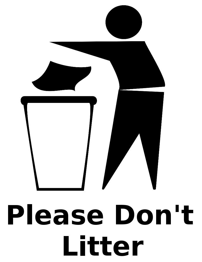 Trash symbol computer