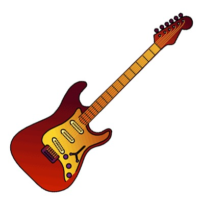 Rock Music Guitar | Clipart Panda - Free Clipart Images