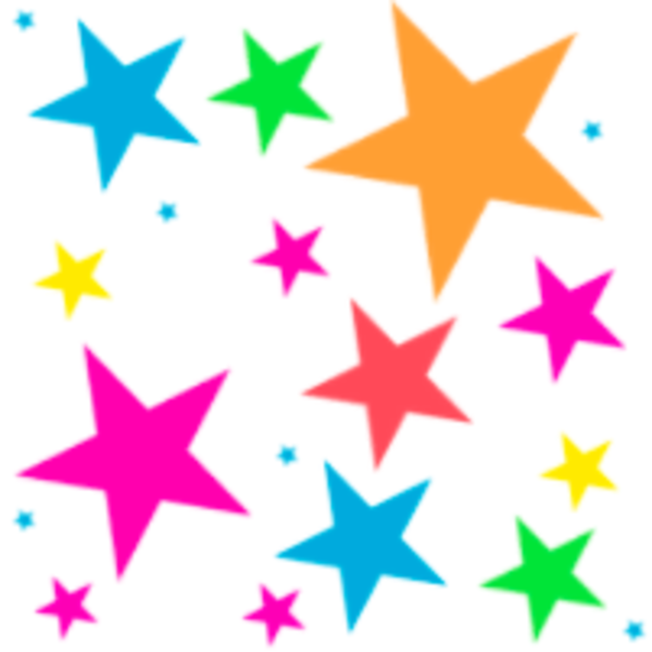 Colorful Stars Clipart | Clipart Panda - Free Clipart Images