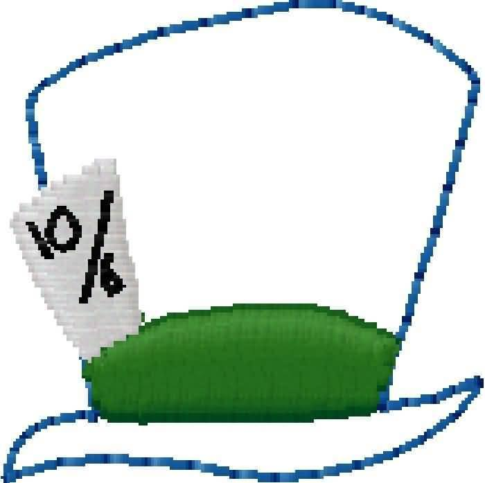 mad hatter clip art clipartsco