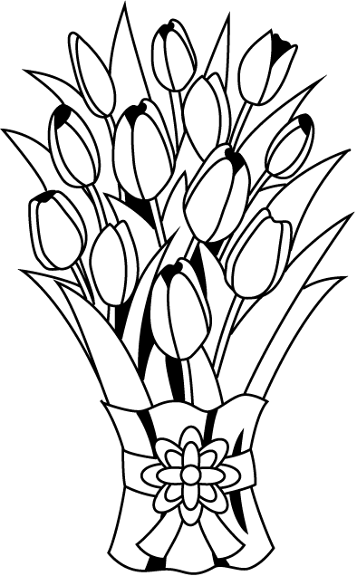 Flower Bouquet Clipart - ClipArt Best