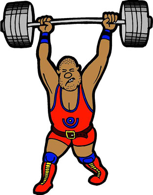 weightlifter clipart weight lifter clip art weightlifting clipart black and white