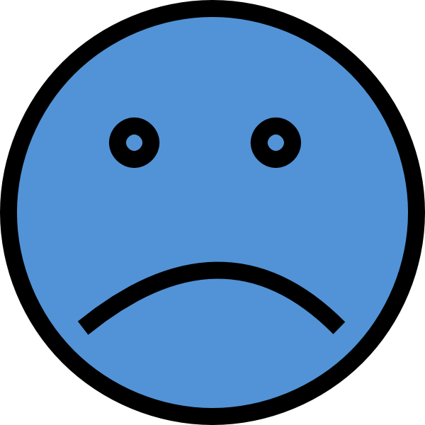 Unhappy Smiley Face Clip Art - Cliparts.co