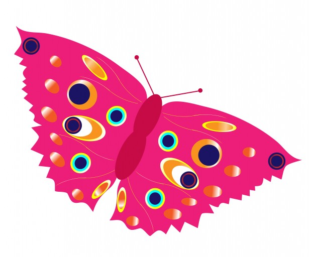 Clip Art Butterflies - Cliparts.co