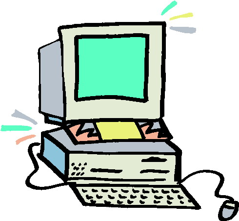 Free Clipart Sick Computer