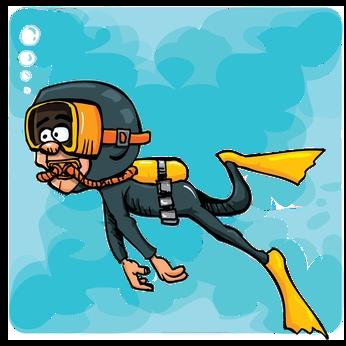 scuba diver cartoon cliparts co scuba diving clipart free scuba diving clipart black and white