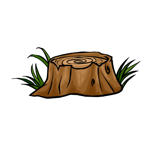 Cartoon Tree Stump - Cliparts.co