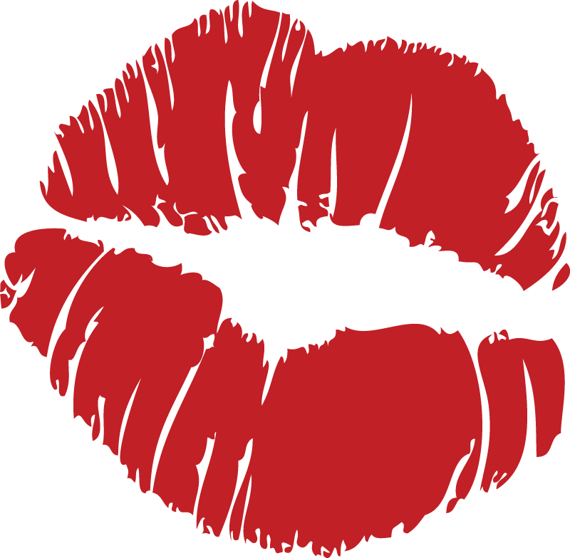 Red mouth logo
