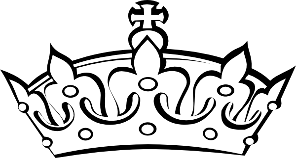 Princess Crown Black And White Clip Art Images & Pictures - Becuo