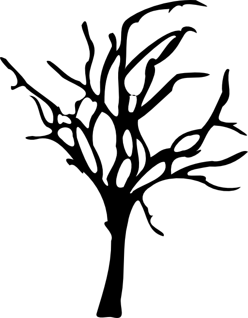 Spooky Tree Clipart - Cliparts.co