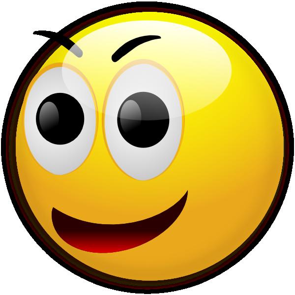 Happy Smiley clip art - vector clip art online, royalty free ...
