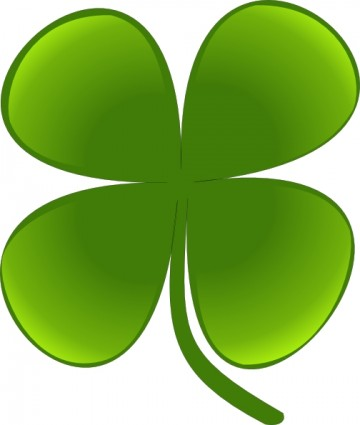Shamrock For March clip art Vector clip art - Free vector for free ...