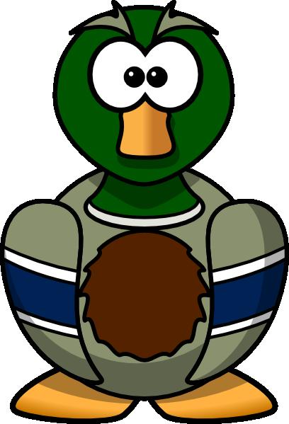 Cartoon Duck clip art - vector clip art online, royalty free ...