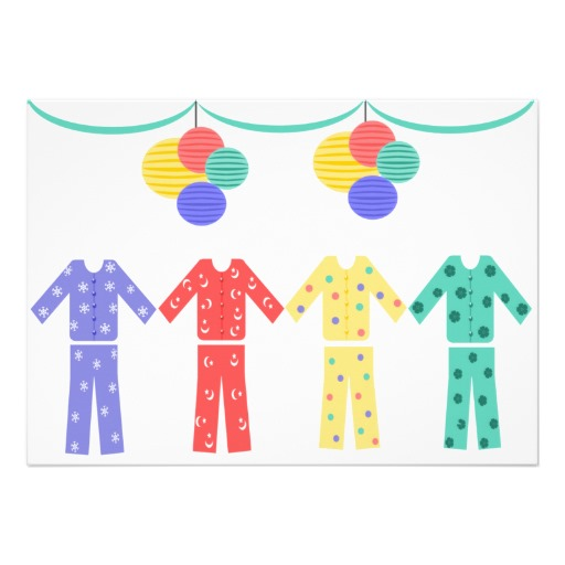 Christmas Pj Party Invitation for beautiful invitation template