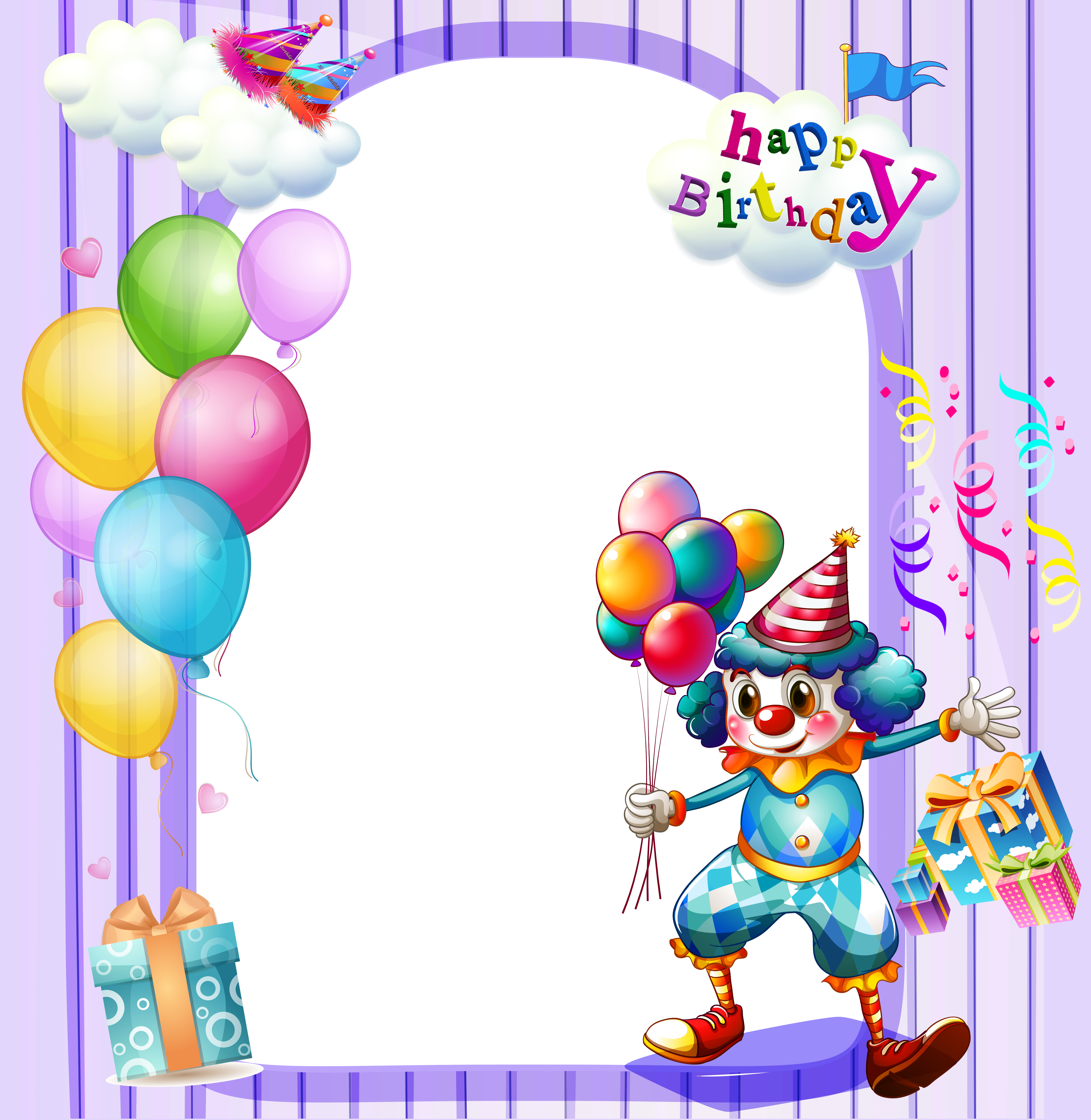 Free Birthday Frames - Cliparts.co