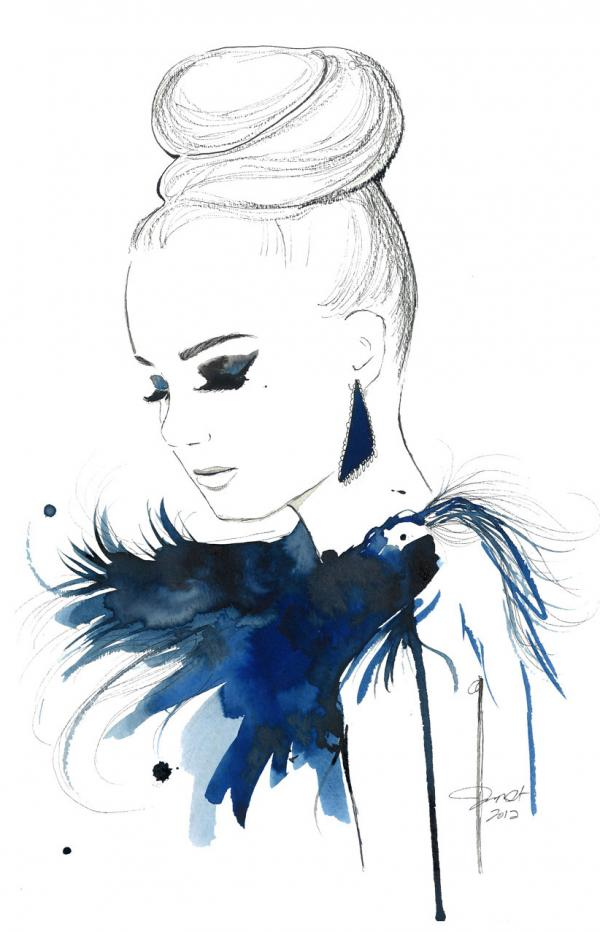 Fashion Illustrations by Jessica Durrant | it COLOSSAL