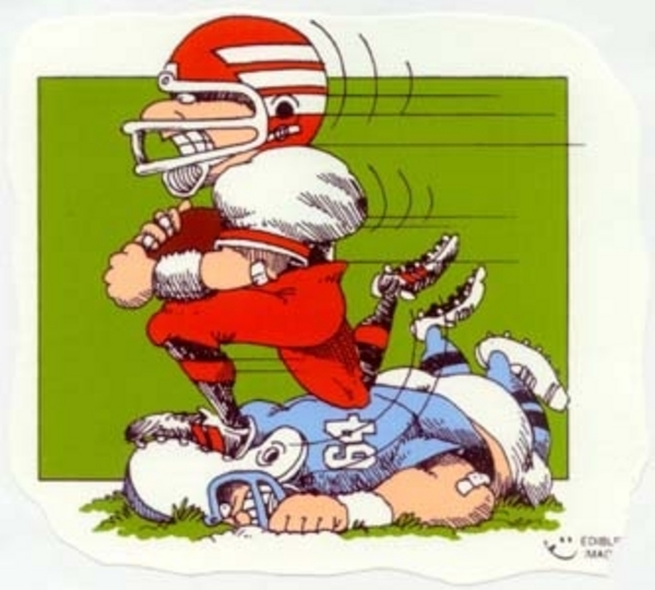 football cartoons clipartsco