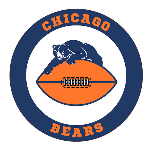 Chicago Bears Logo Badge | Flickr - Photo Sharing!