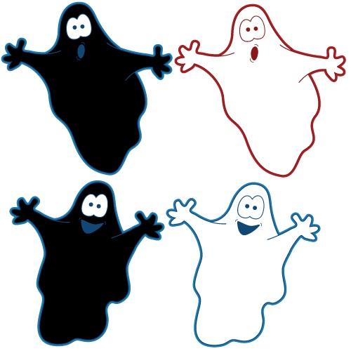 halloween ghost clip art clipartsco