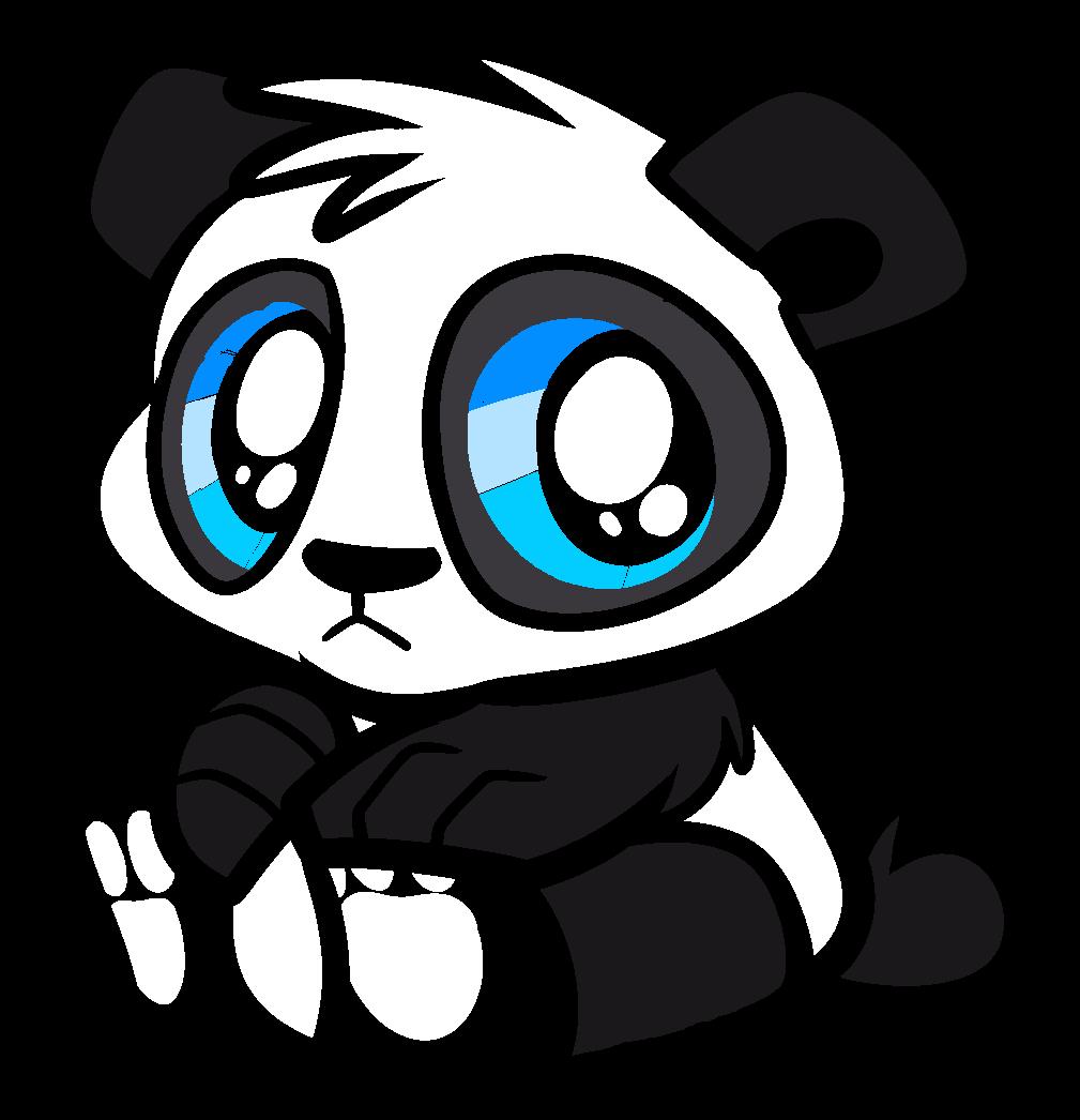 simple panda clipart - photo #20