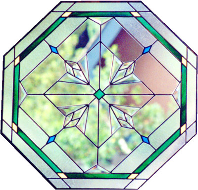 Stained glass clip art for Window design clipart