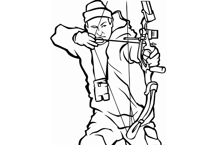 Duck hunting pages 10 coloring pages for Duck hunting coloring pages
