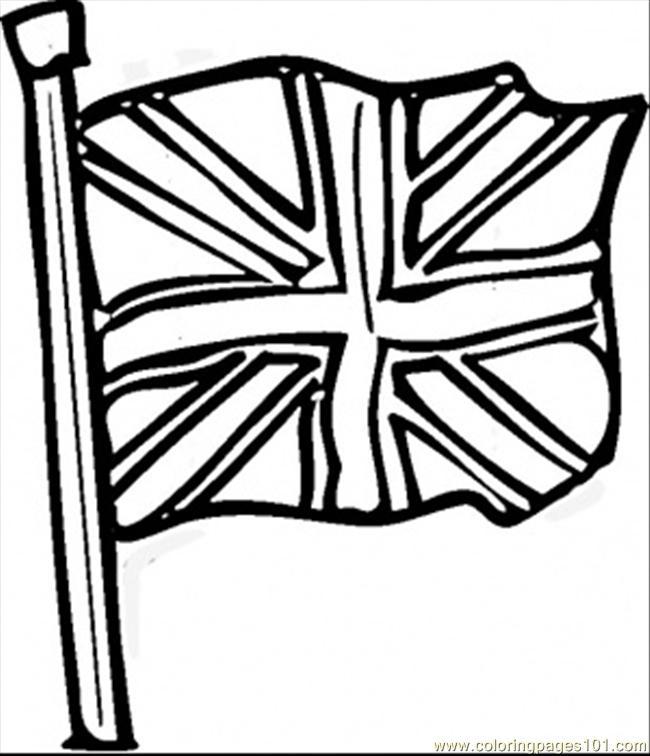 Cartoon British Flag