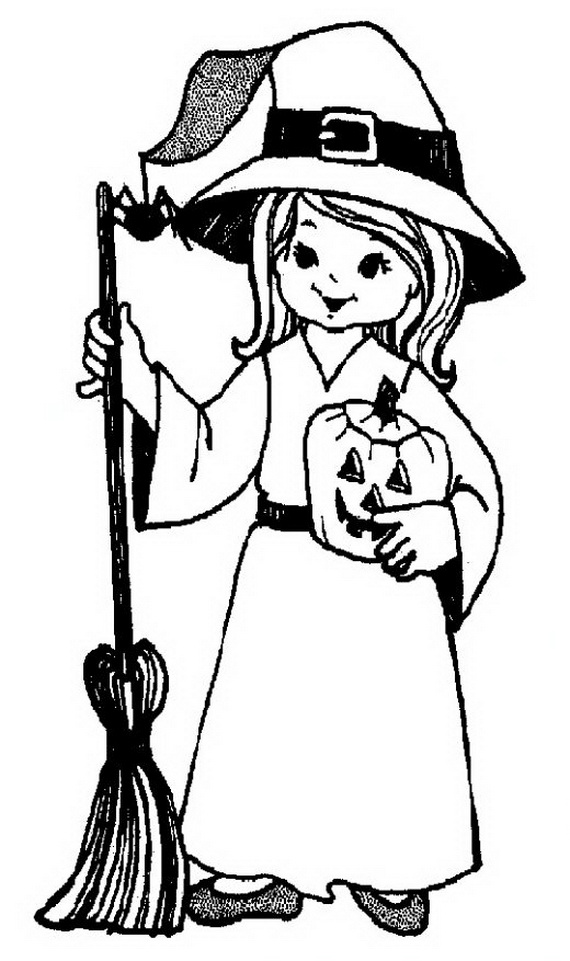 Halloween Coloring Pages Online Scary : Scary Halloween Cat Cliparts.co