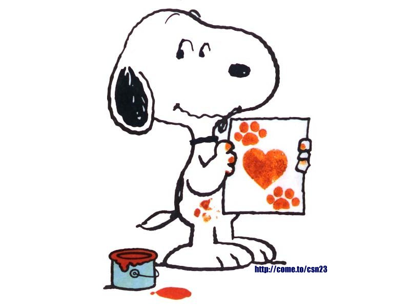 peanuts valentine clip art - photo #20