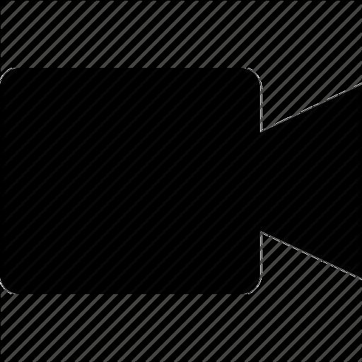 Movie camera icon for Camera film logo
