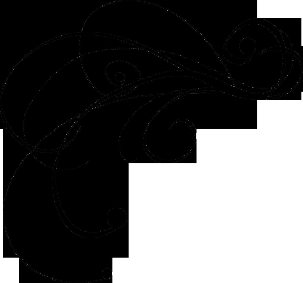 Clip Art Straight Line Scroll : Decorative flourish cliparts