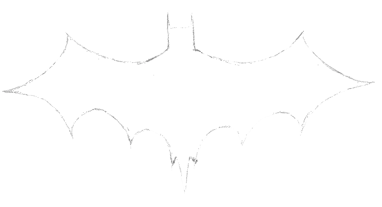 Pictures Of The Dark Knight Logo Outline Kidskunstfo
