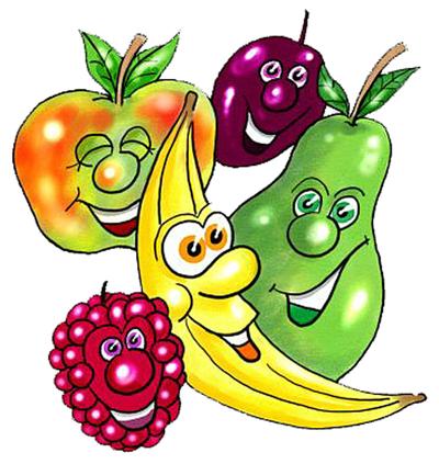Funny Food Cartoons Clipart