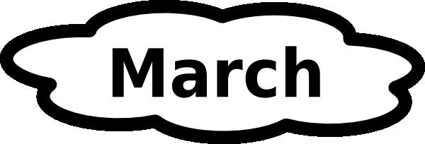 March Calendar Clip Art - Cliparts.co