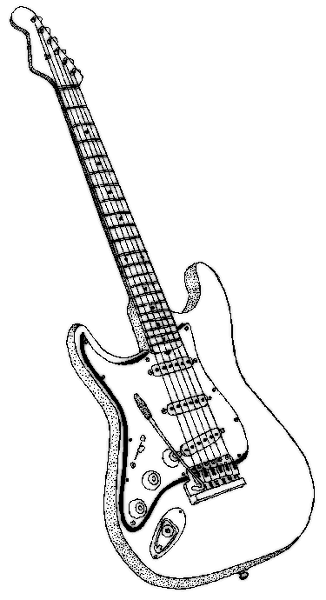 Guitar Art Pictures