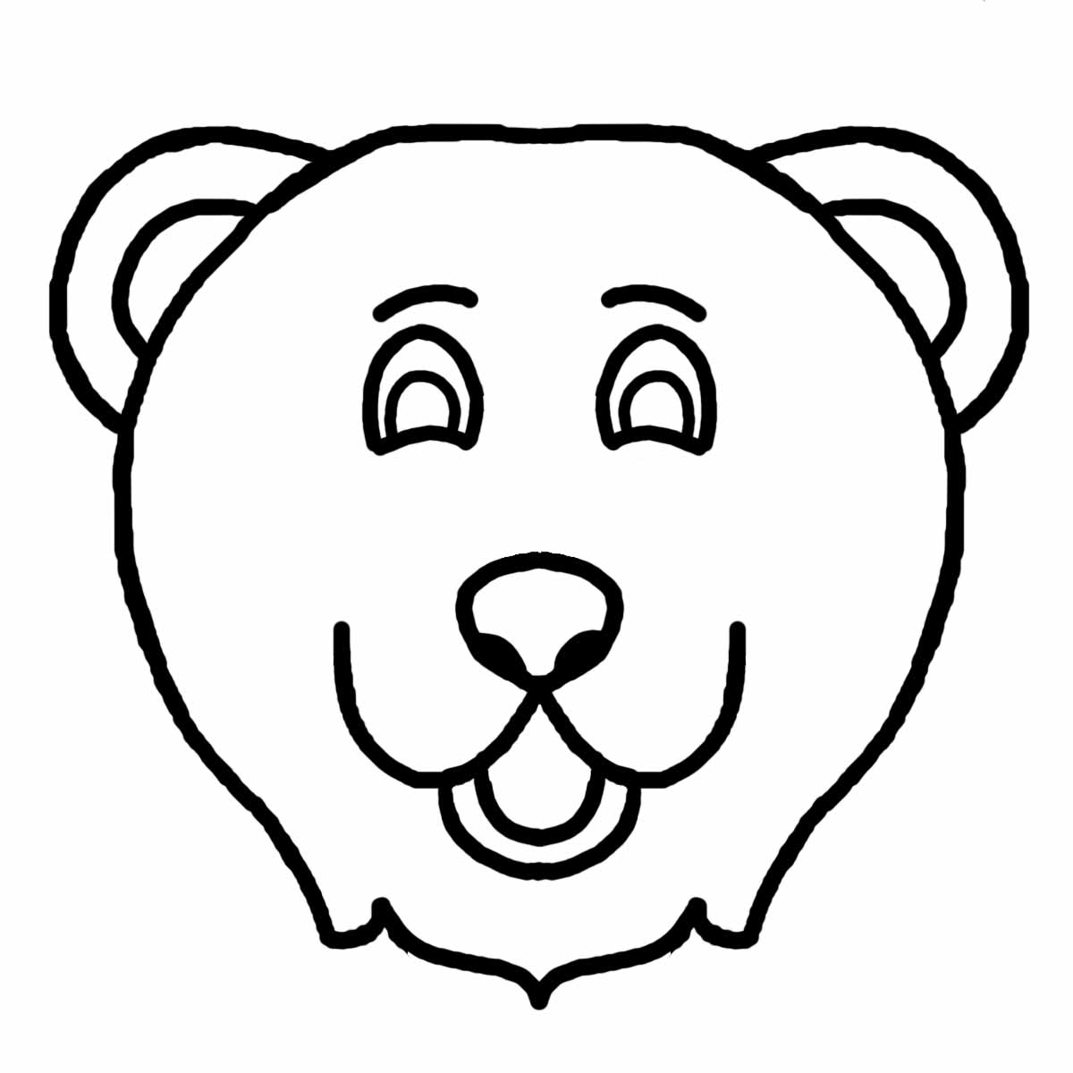 Animal Faces Coloring Pages Coloring Pages Pictures