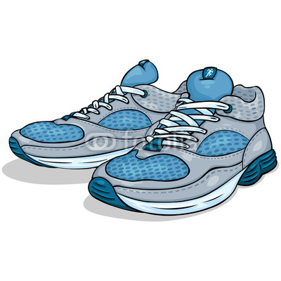 Running Shoes Cliparts