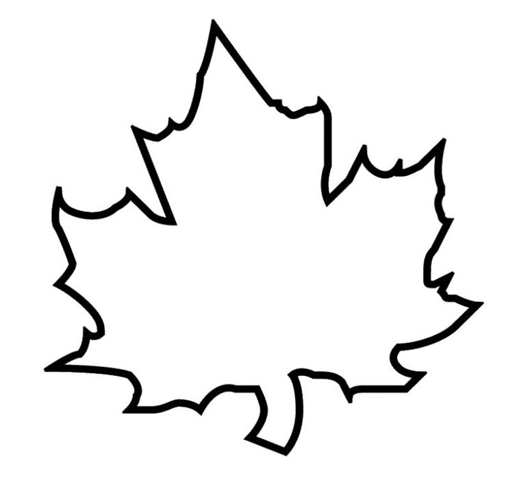 Leaf Outline Clip Art - Cliparts.co
