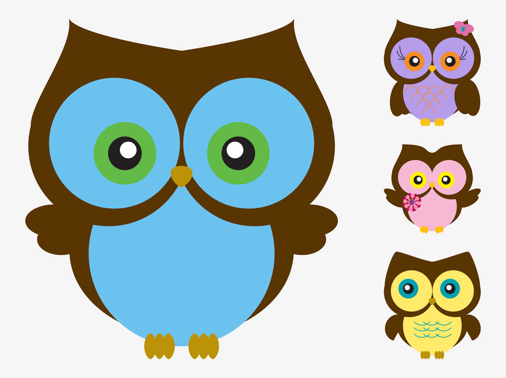 Cute Owl Cartoon Pictures - Cliparts.co