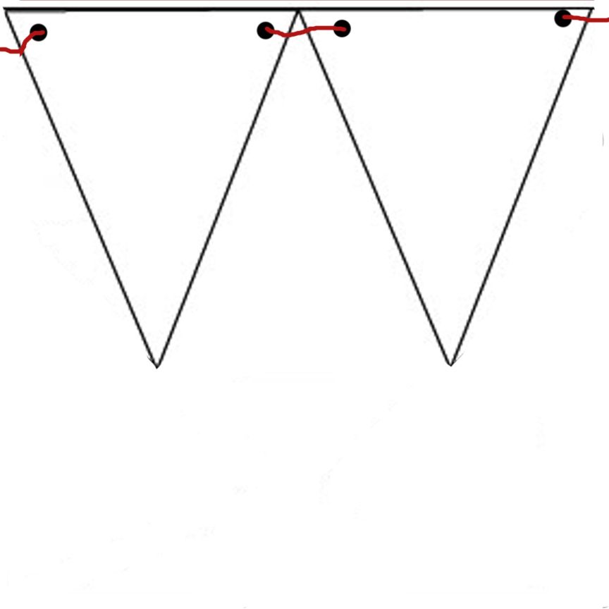 Pennant Banner Template Cliparts Co