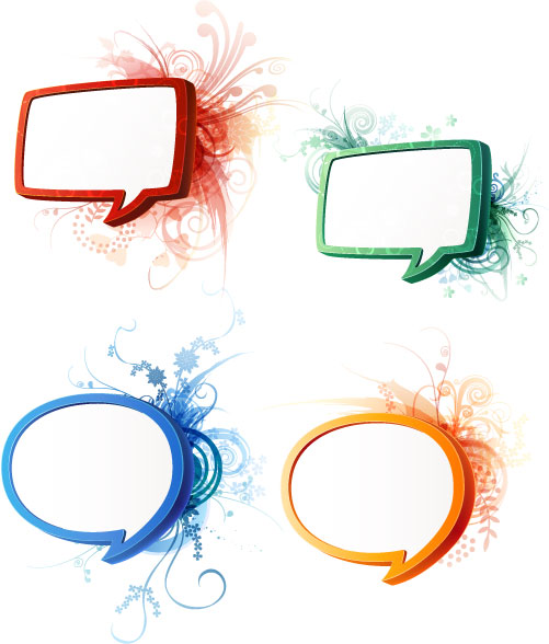 Cool Talk Bubble Free Speech Bubbles - ...