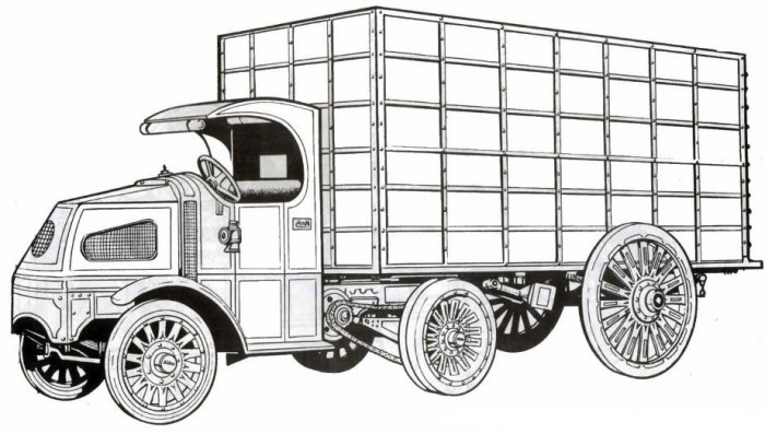 cars coloring pages mack - photo#50