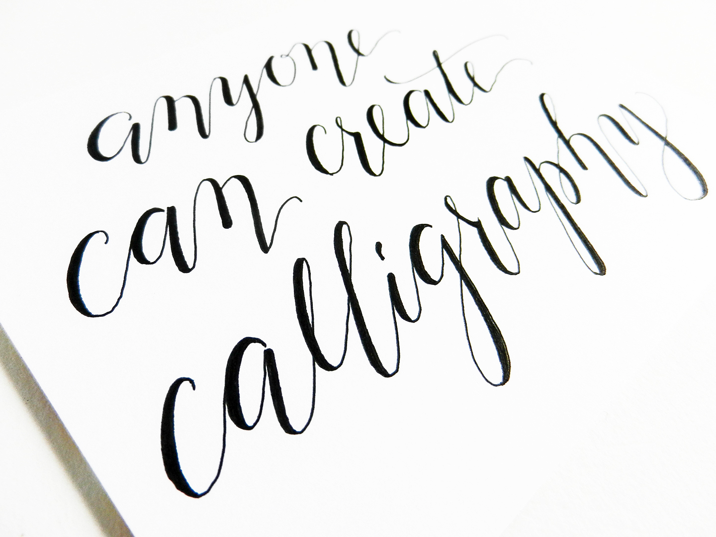 How to write thank you in calligraphy cliparts