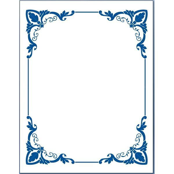 Simple Page Border Designs To Draw - Cliparts.co