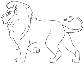 Ishtar Coloring Page