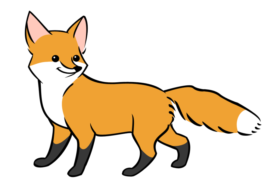 Vector Fox By Wolfypuppy On DeviantART - Cliparts.co