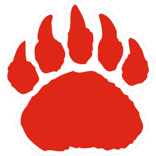 Small Belton-Honea Path Bears Logo Teammate Decal | Shop Fathead ...