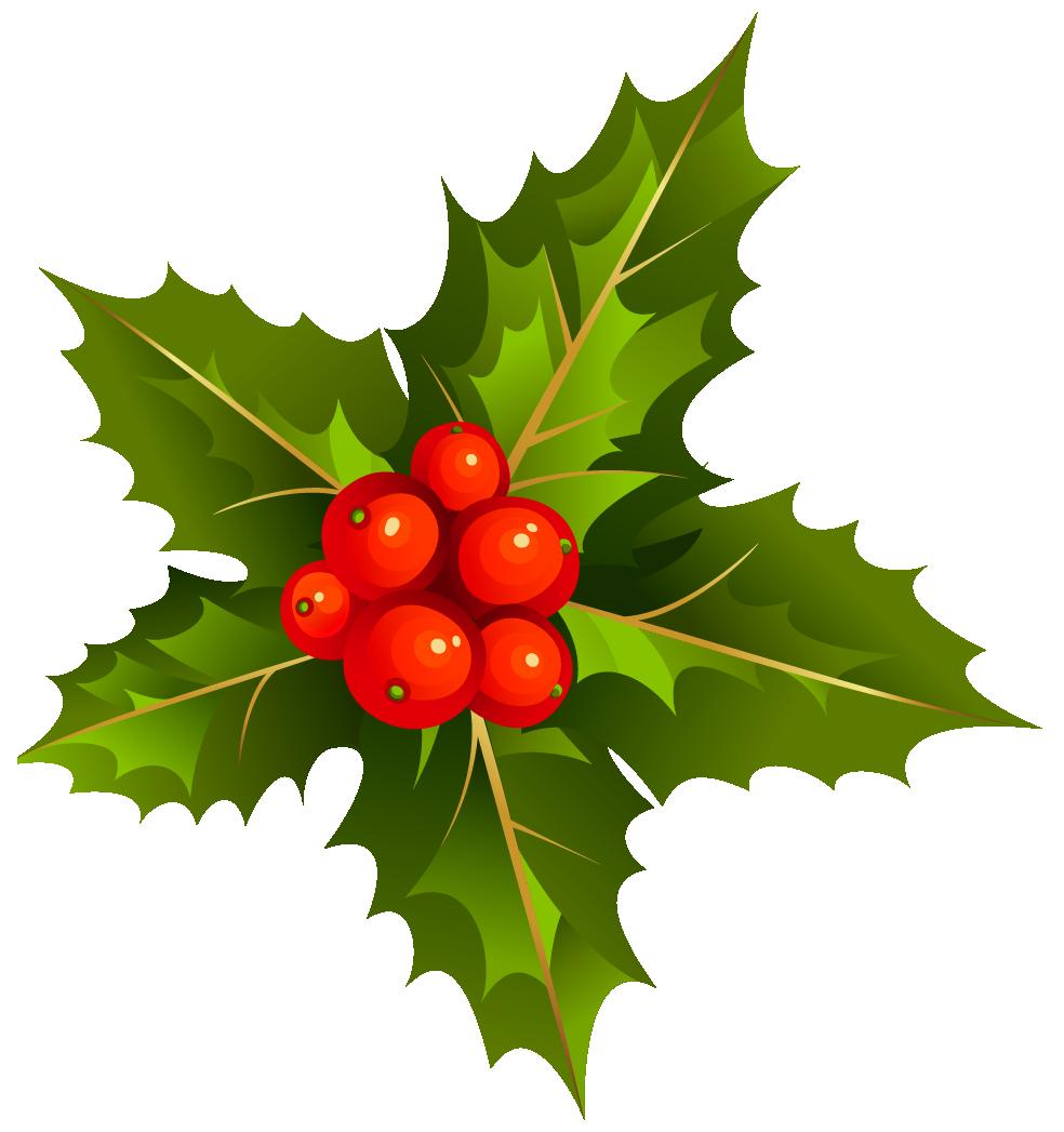 Transparent Christmas Mistletoe Clipart